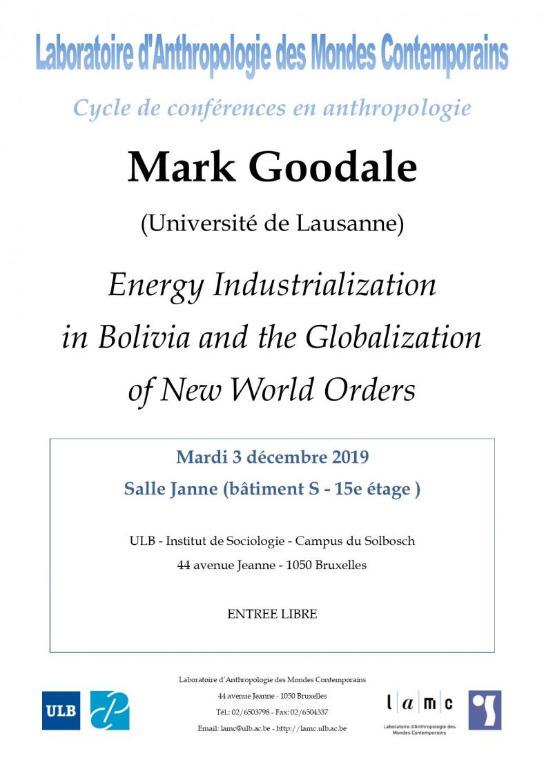 Energy Industrialization in Bolivia and the Globalization of New World Orders